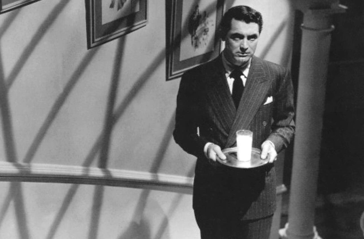 Week 7: Suspicion (1941) Cary Grant, Scrabble Tiles, and Doing the Work –  Hitchcock 52