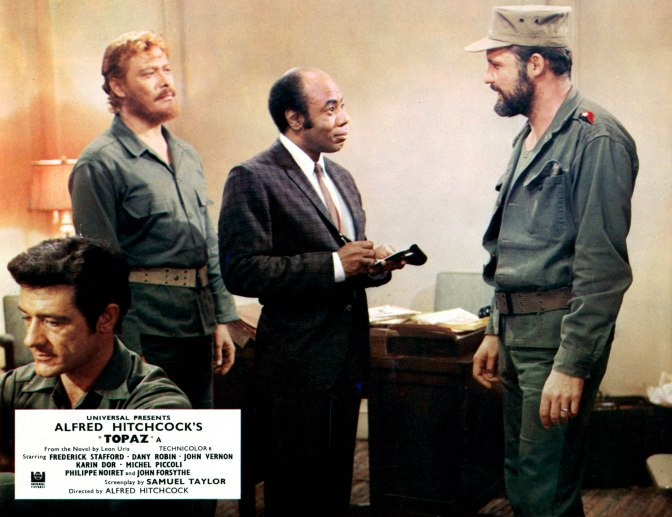 Roscoe Lee Browne And John Vernon In 'Topaz'